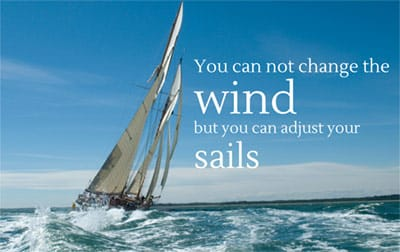you can not change the wind